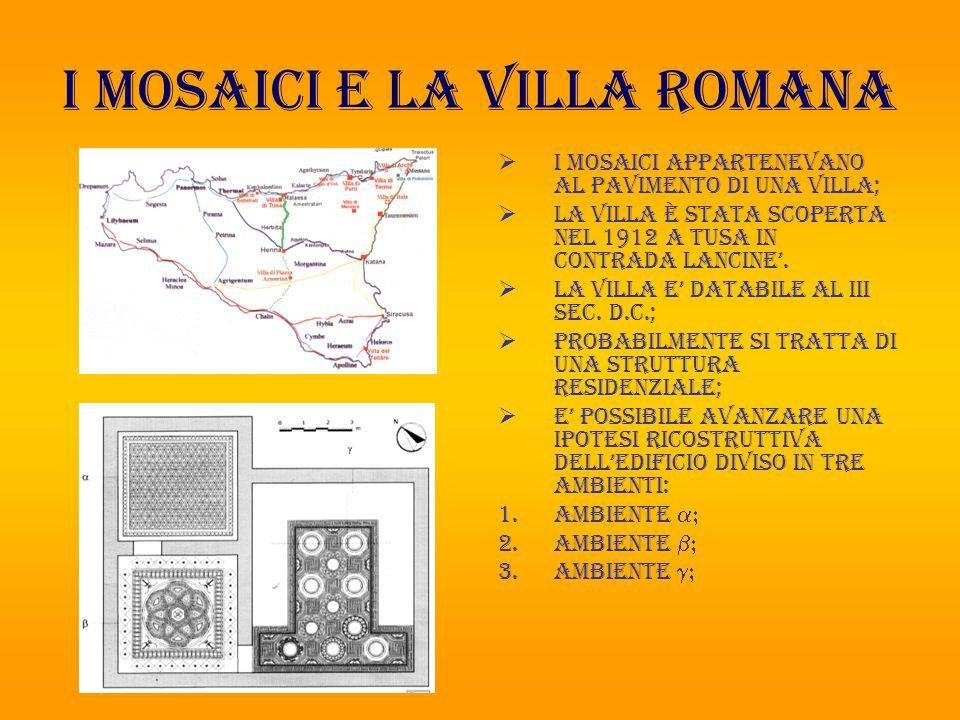 I mosaici e la villa romana