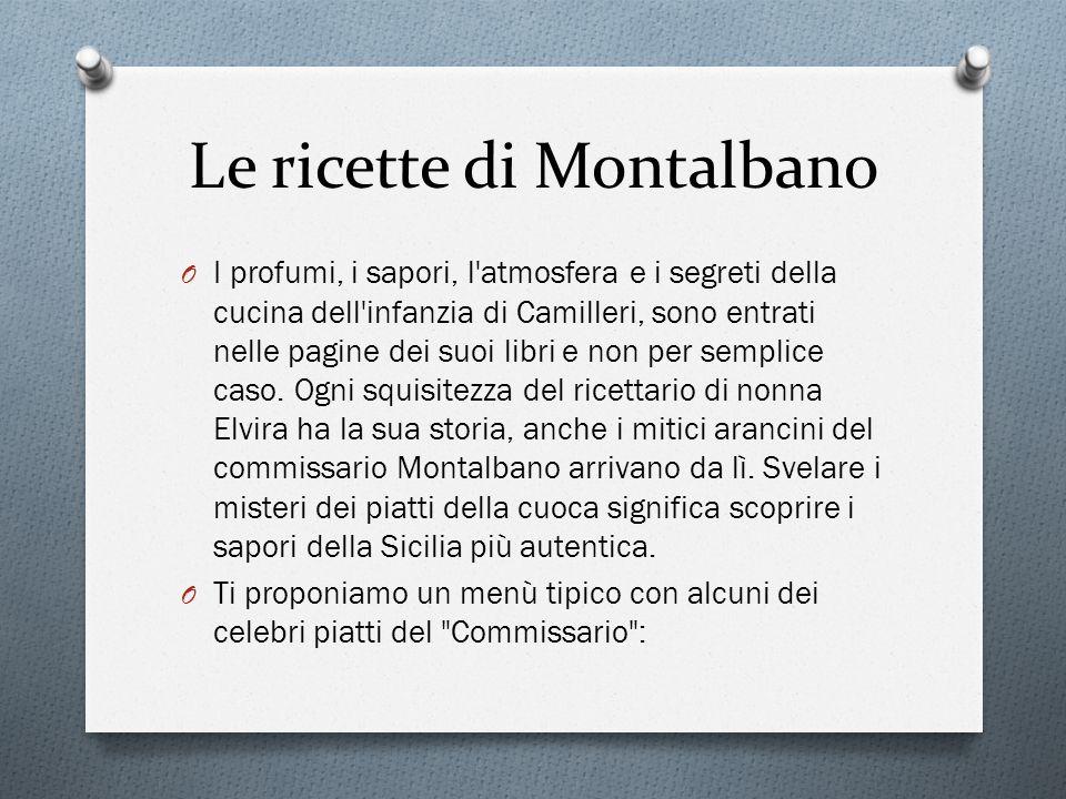 Le ricette di Montalbano