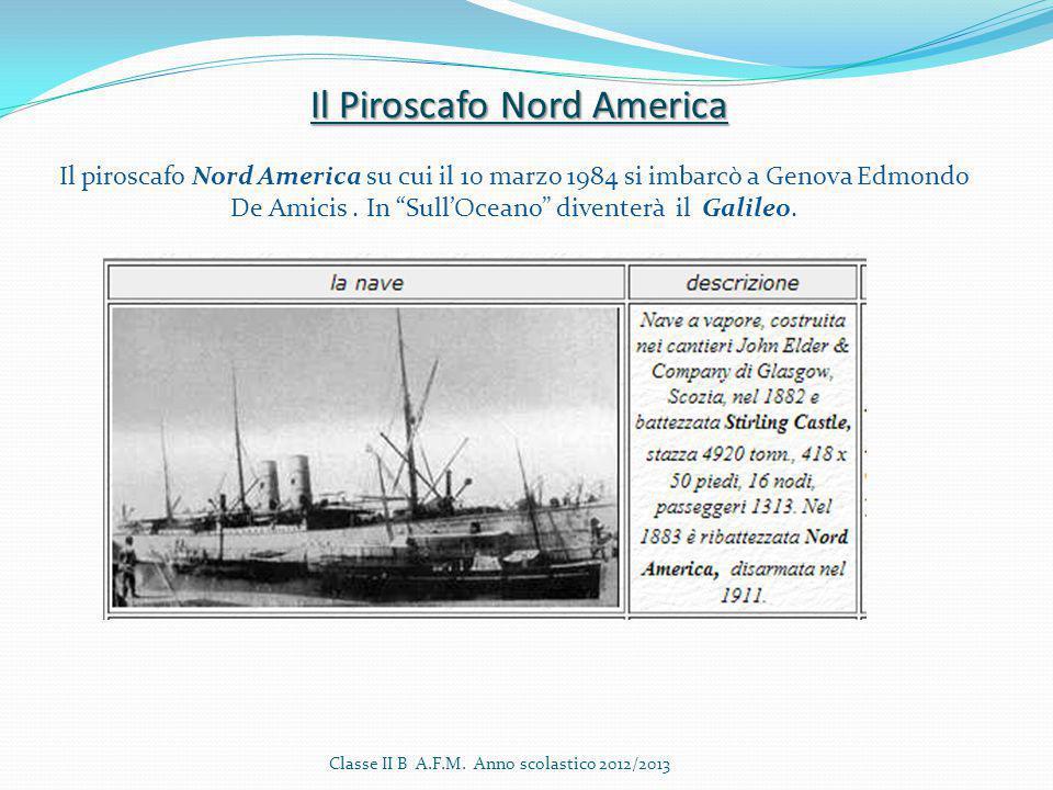 Il Piroscafo Nord America