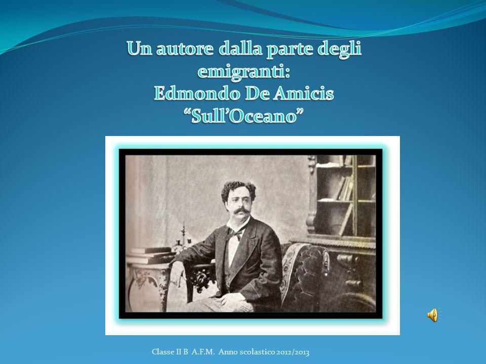 Un autore dalla parte degli emigranti: Edmondo De Amicis Sull'Oceano