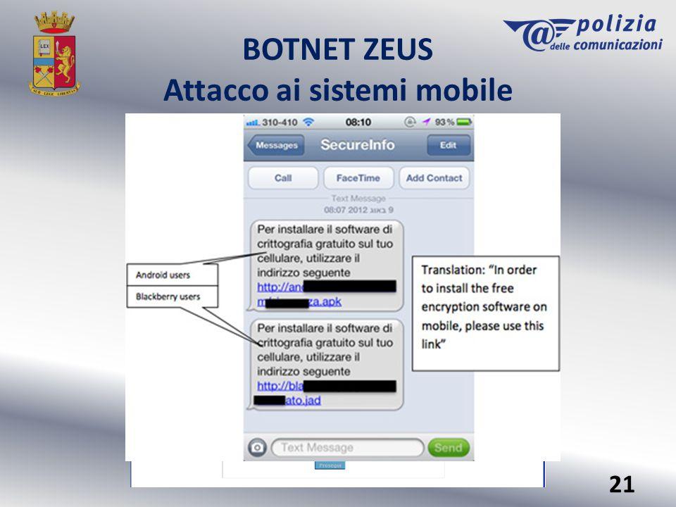 Attacco ai sistemi mobile