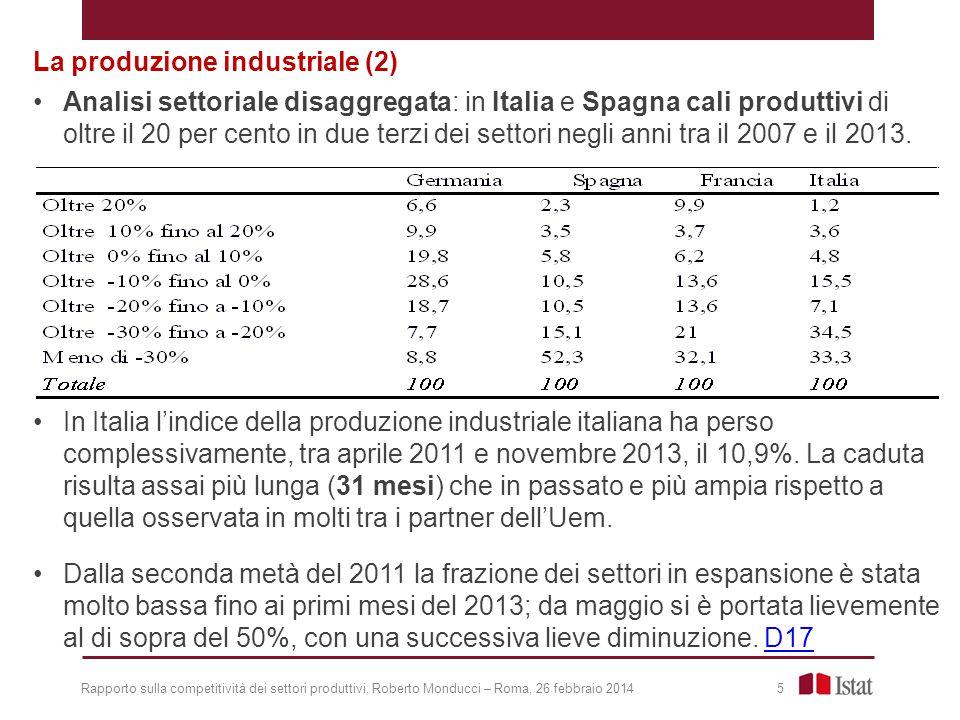 La produzione industriale (2)