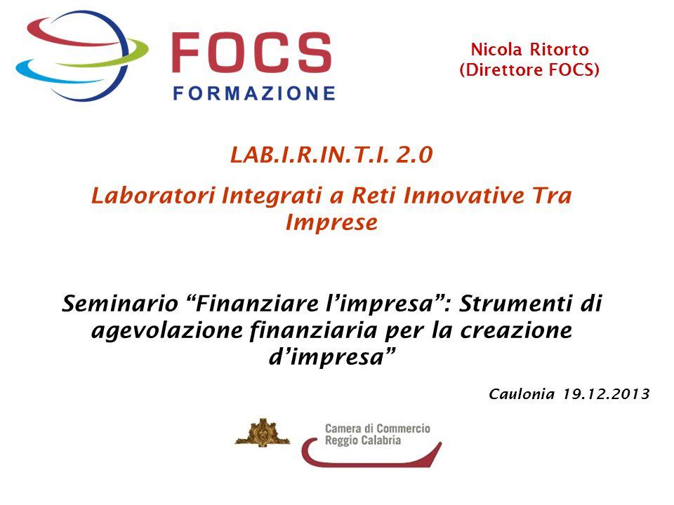 Laboratori Integrati a Reti Innovative Tra Imprese