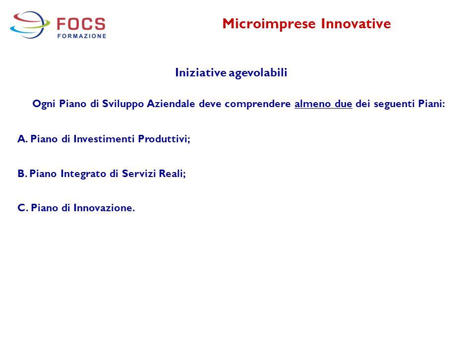 Microimprese Innovative