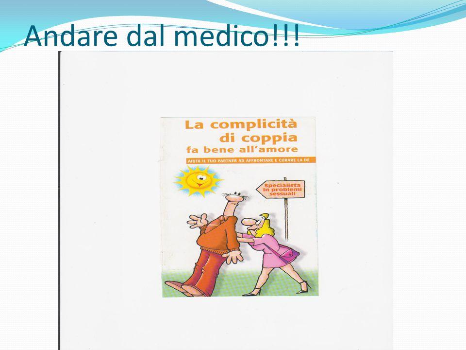 Andare dal medico!!!