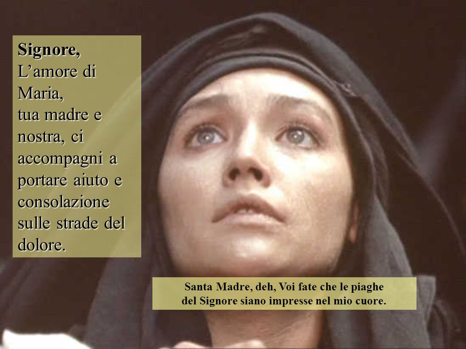 Signore, L'amore di Maria,