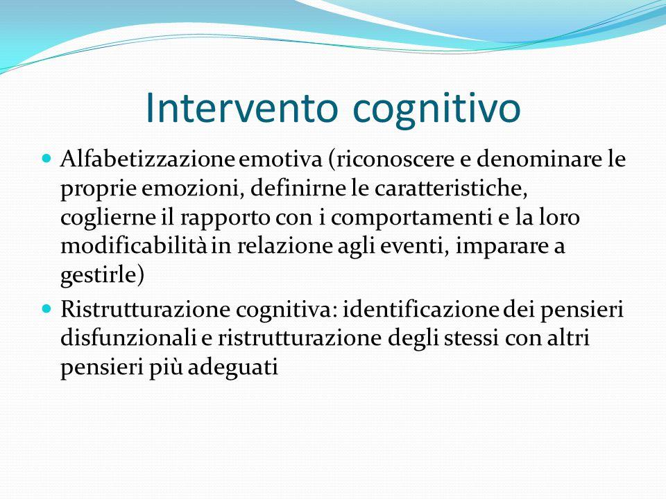 Intervento cognitivo
