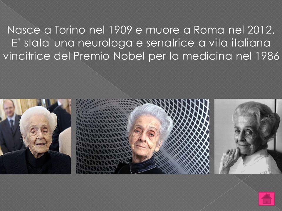 Nasce a Torino nel 1909 e muore a Roma nel 2012