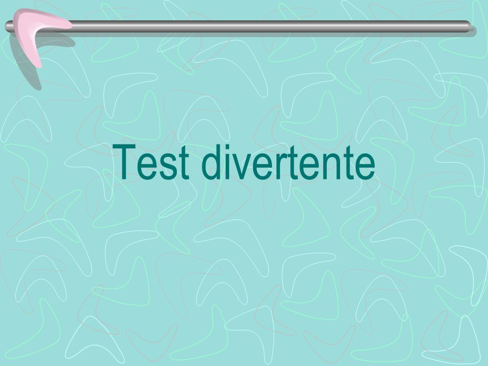 Test divertente