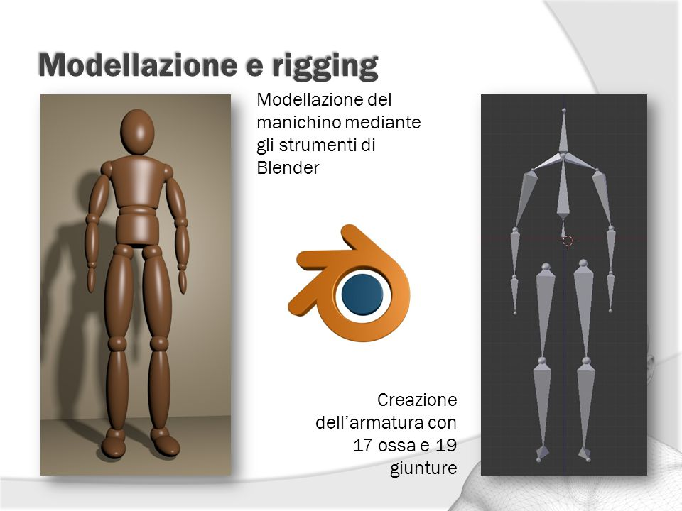 Modellazione e rigging