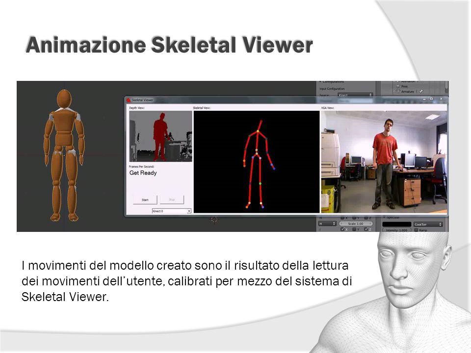 Animazione Skeletal Viewer