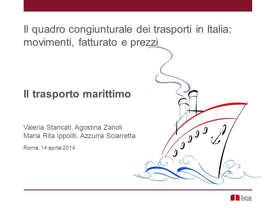 Il trasporto marittimo