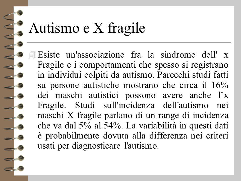 Autismo e X fragile