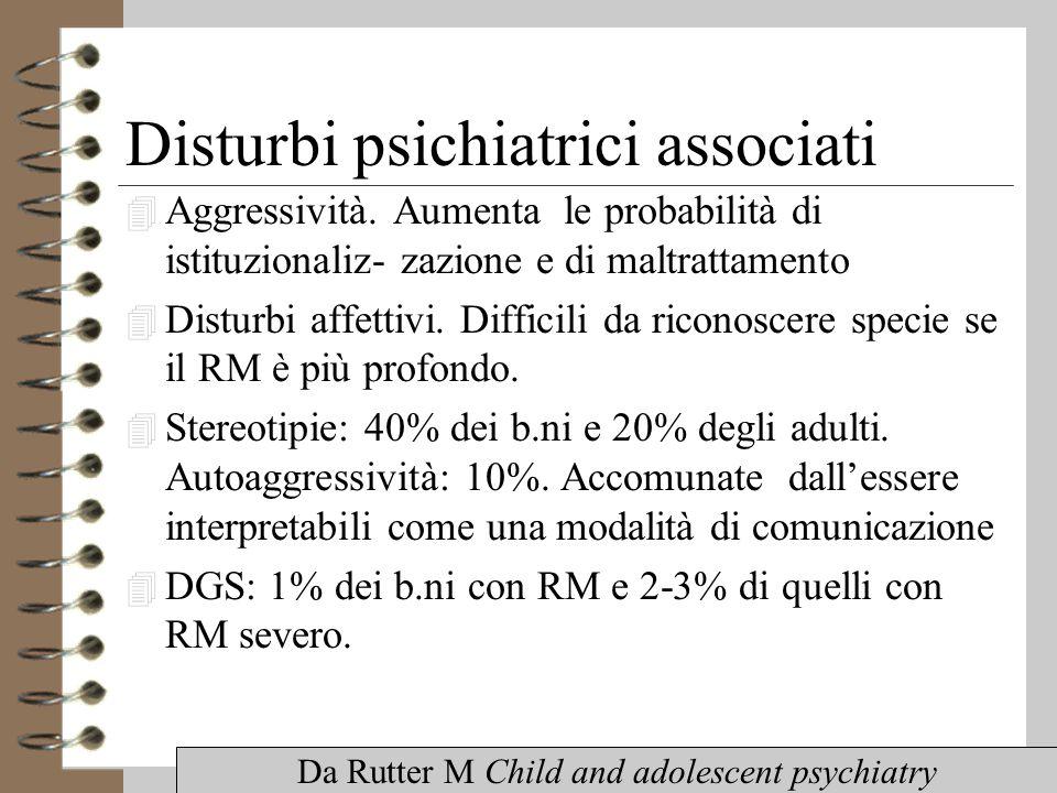 Disturbi psichiatrici associati