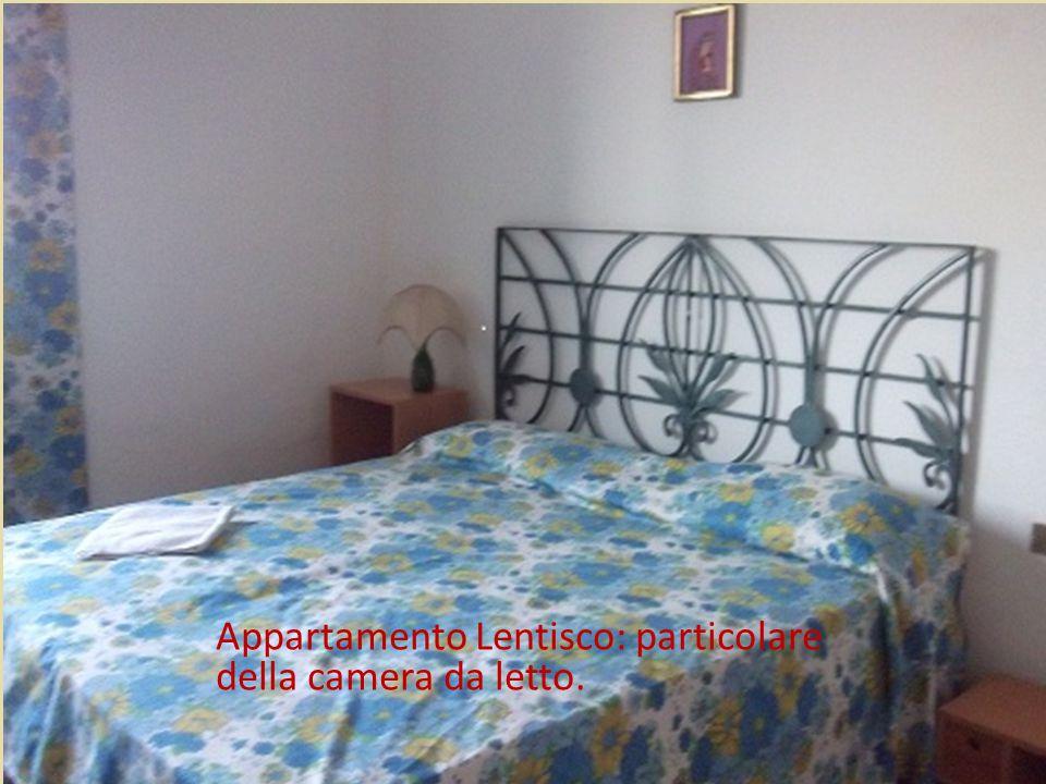 Appartamento Lentisco: camera da letto.