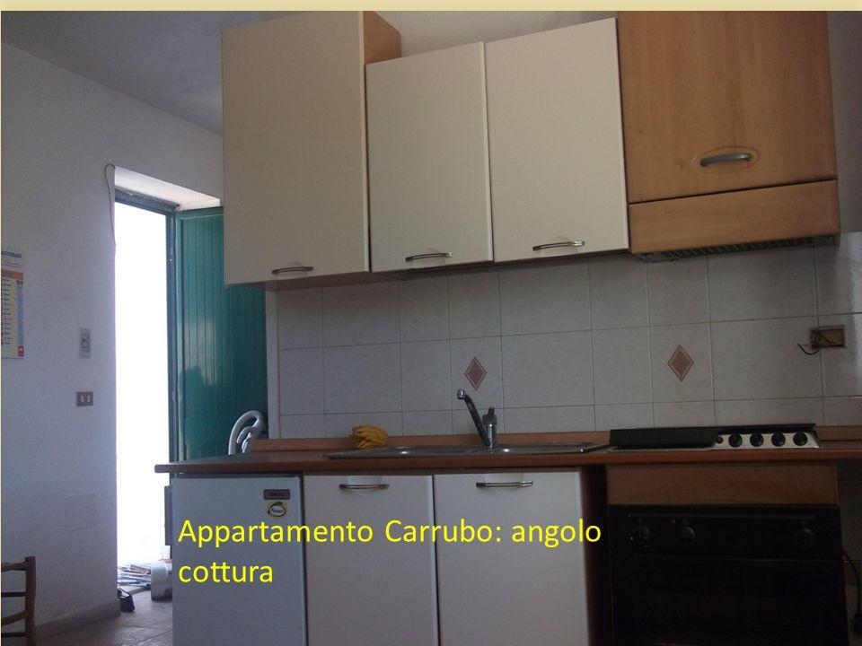 Appartamento Carrubo: angolo cottura