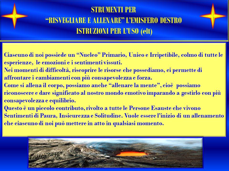 RISVEGLIARE E ALLENARE L'EMISFERO DESTRO ISTRUZIONI PER L'USO (elt)