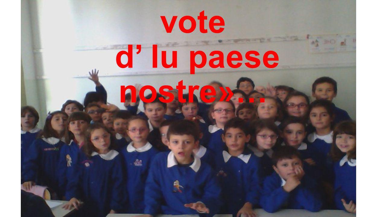 Vi recitiamo «li rime di 'na vote d' lu paese nostre»…
