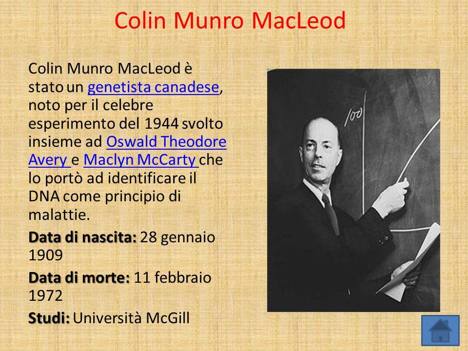 Colin Munro MacLeod