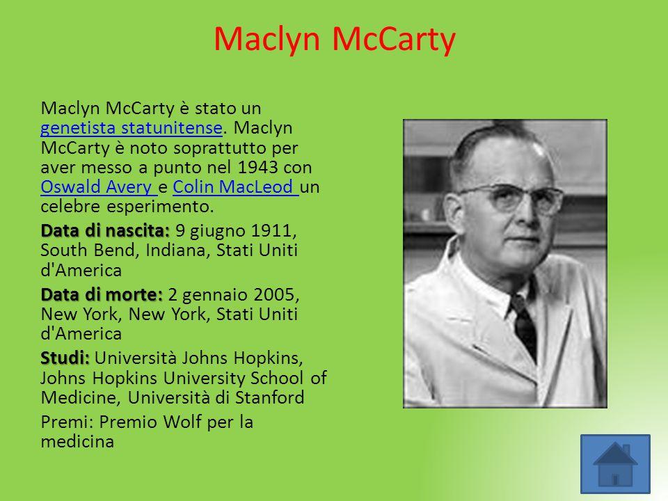 Maclyn McCarty