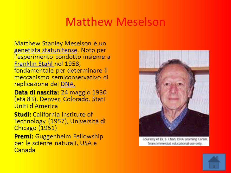 Matthew Meselson