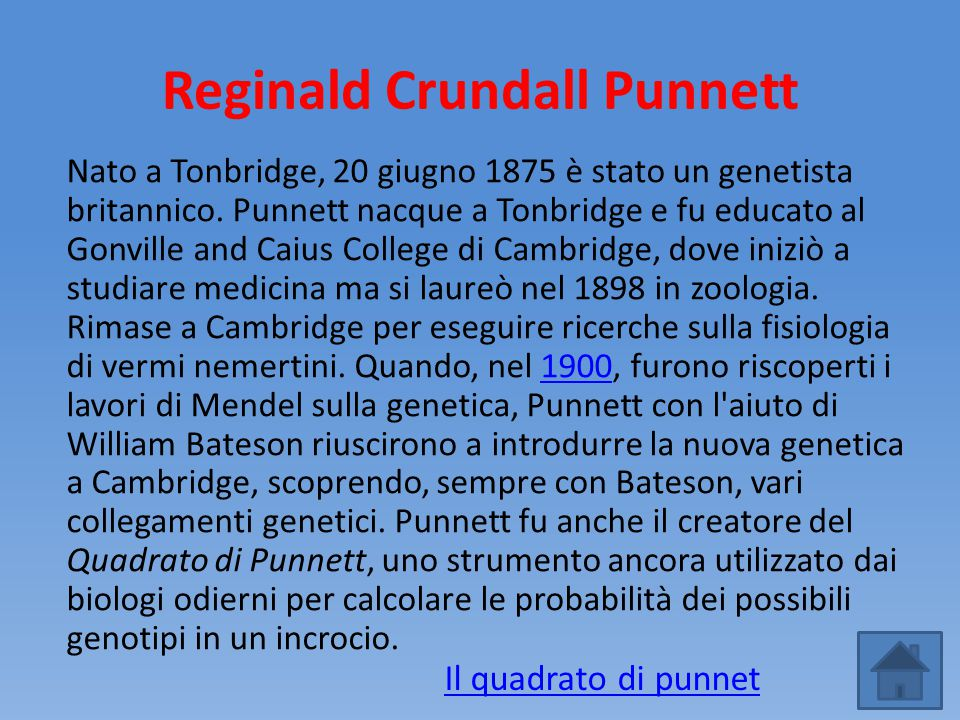 Reginald Crundall Punnett