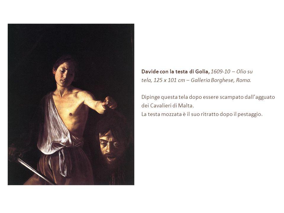 Davide con la testa di Golia, 1609-10 – Olio su