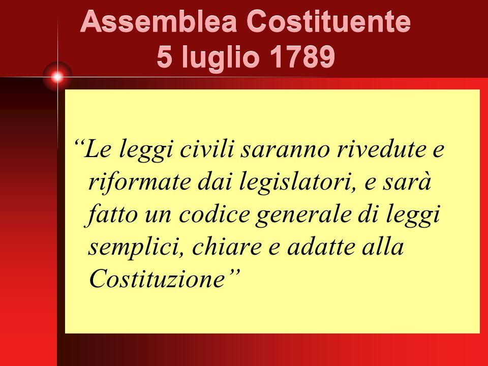 Assemblea Costituente 5 luglio 1789