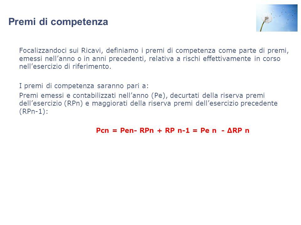 Pcn = Pen- RPn + RP n-1 = Pe n - ΔRP n