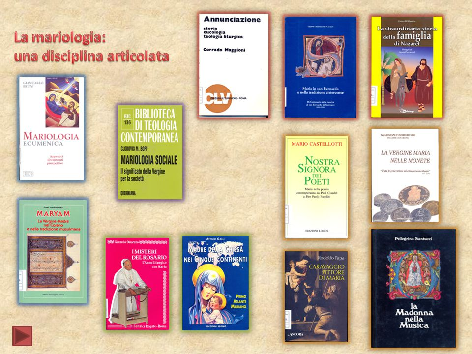 La mariologia: una disciplina articolata