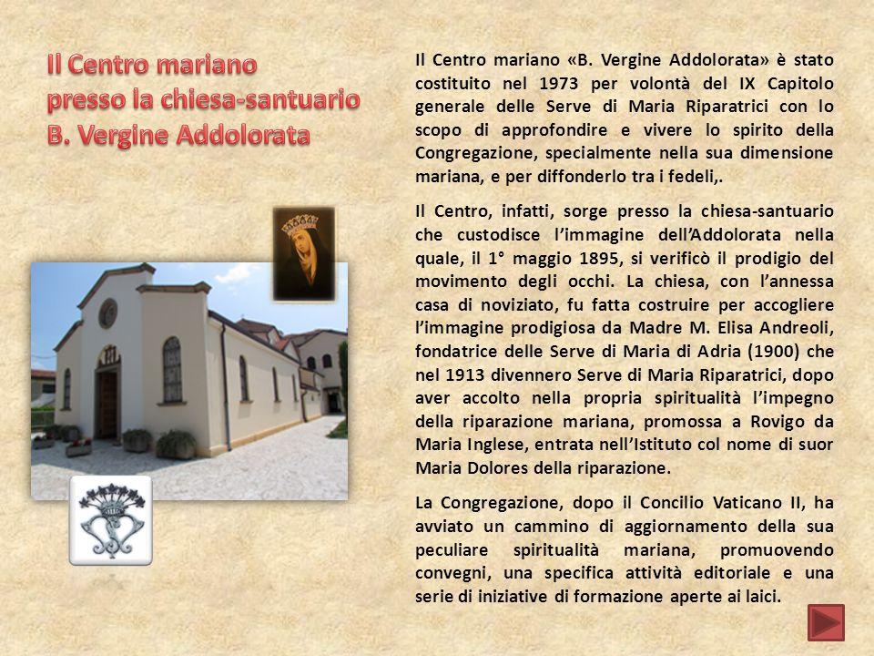 presso la chiesa-santuario B. Vergine Addolorata