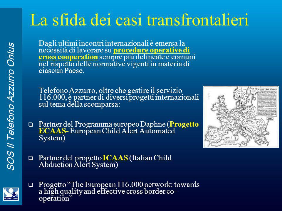 La sfida dei casi transfrontalieri