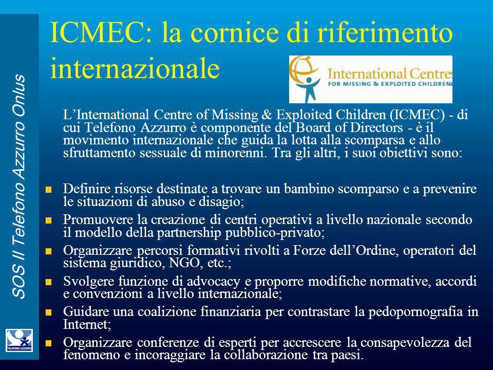 ICMEC: la cornice di riferimento internazionale
