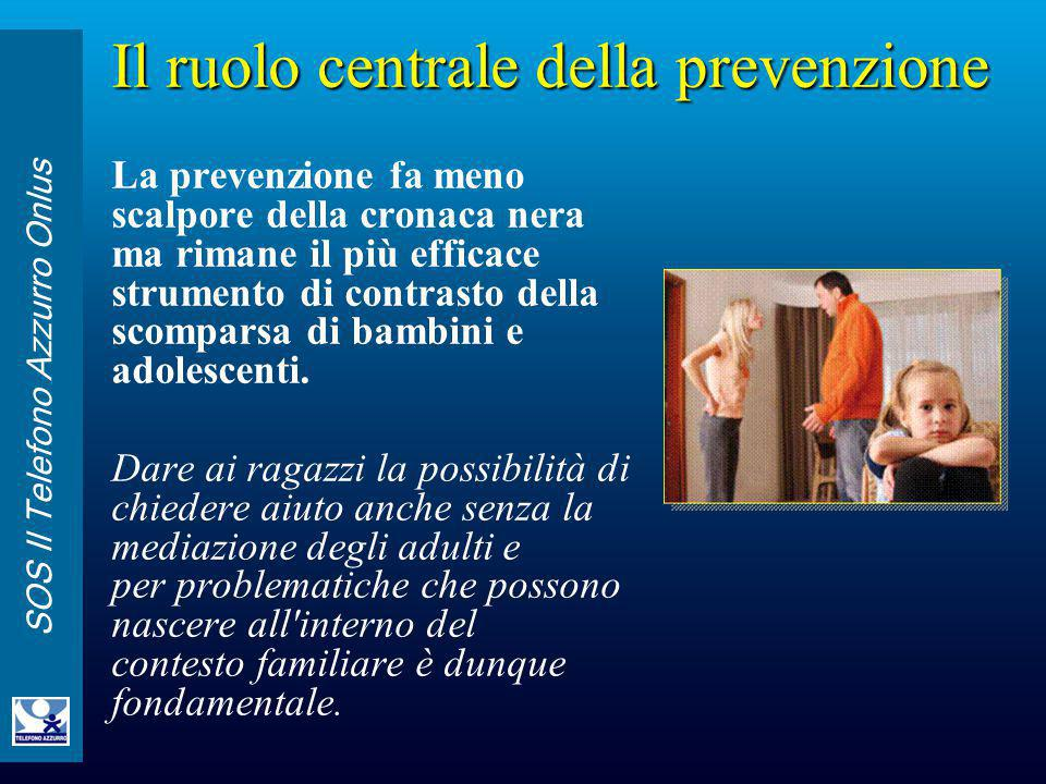 Il ruolo centrale della prevenzione