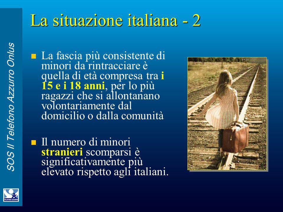 La situazione italiana - 2