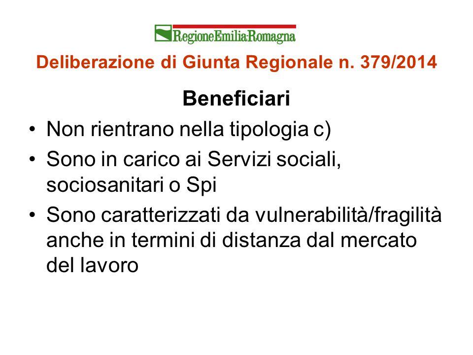 Deliberazione di Giunta Regionale n. 379/2014