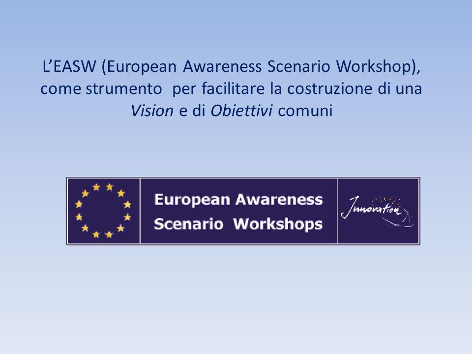 L'EASW (European Awareness Scenario Workshop), come strumento per facilitare la costruzione di una Vision e di Obiettivi comuni