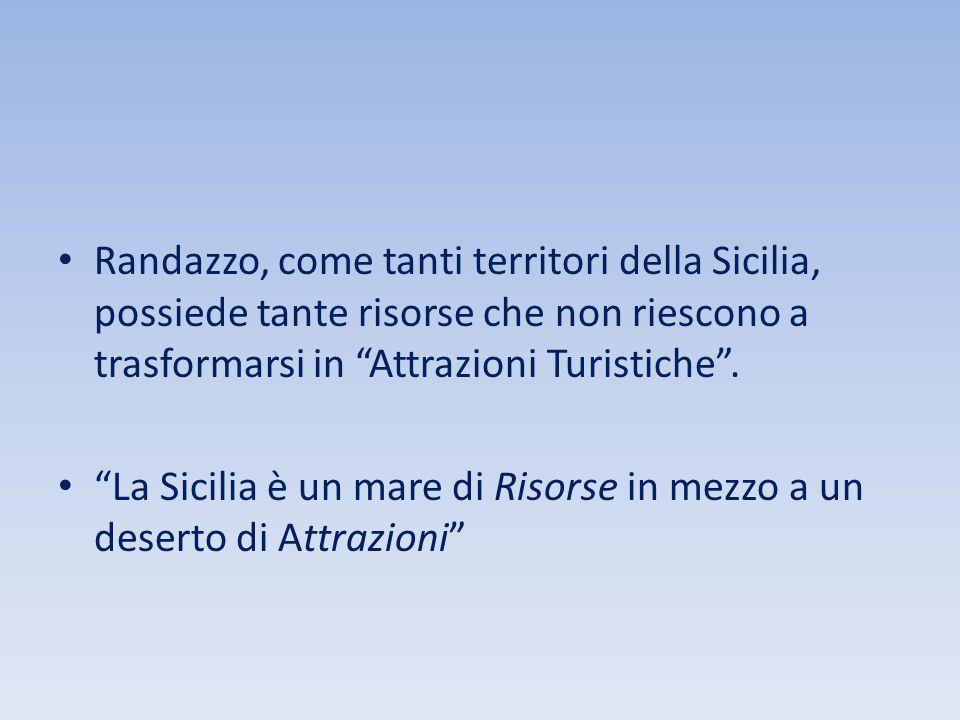 Randazzo, come tanti territori della Sicilia, possiede tante risorse che non riescono a trasformarsi in Attrazioni Turistiche .