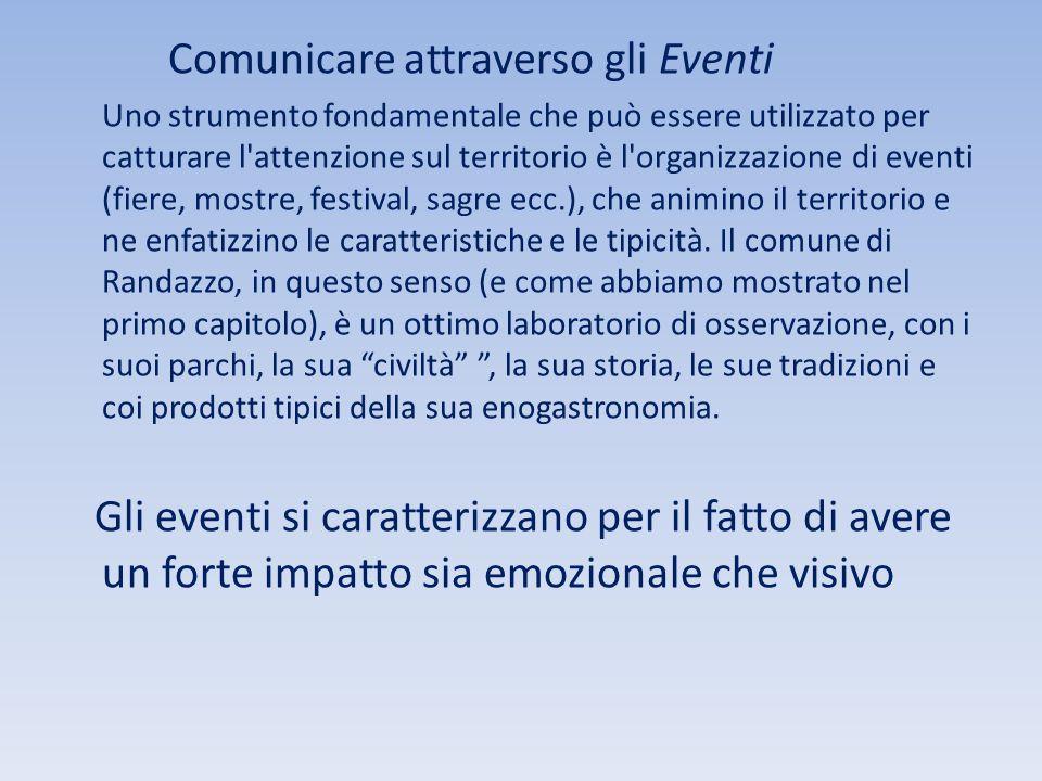 Comunicare attraverso gli Eventi