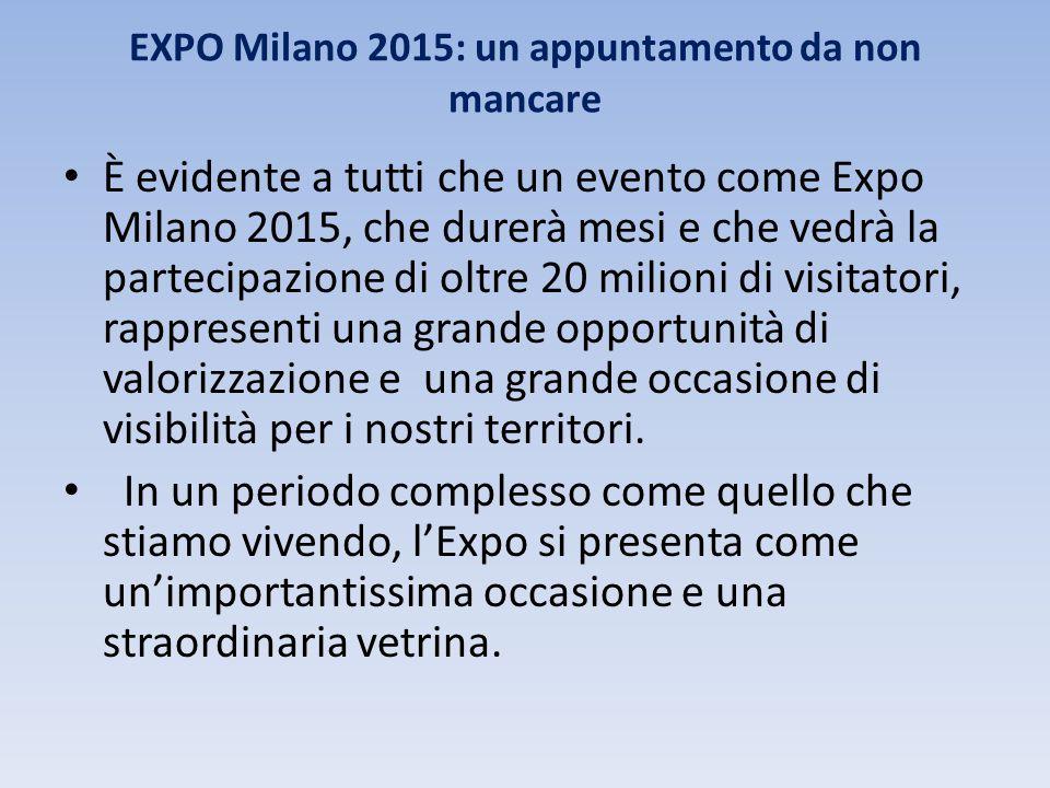 EXPO Milano 2015: un appuntamento da non mancare