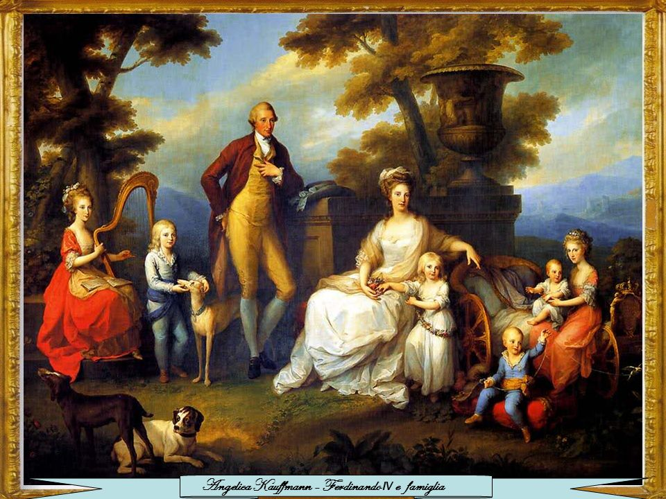 Angelica Kauffmann - Ferdinando IV e famiglia