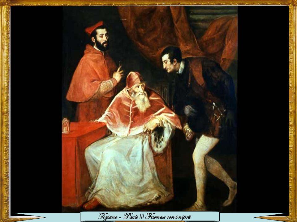 Tiziano - Paolo III Farnese con i nipoti