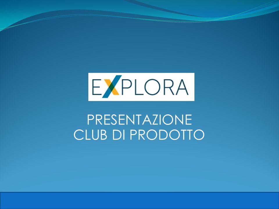 PRESENTAZIONE CLUB DI PRODOTTO