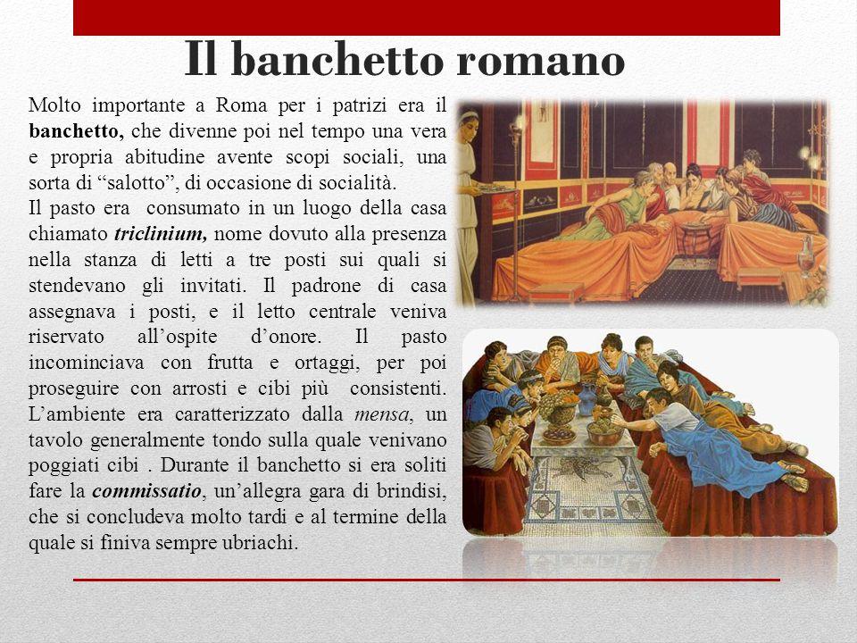 Il banchetto romano