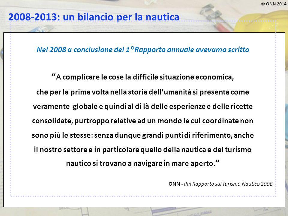 2008-2013: un bilancio per la nautica