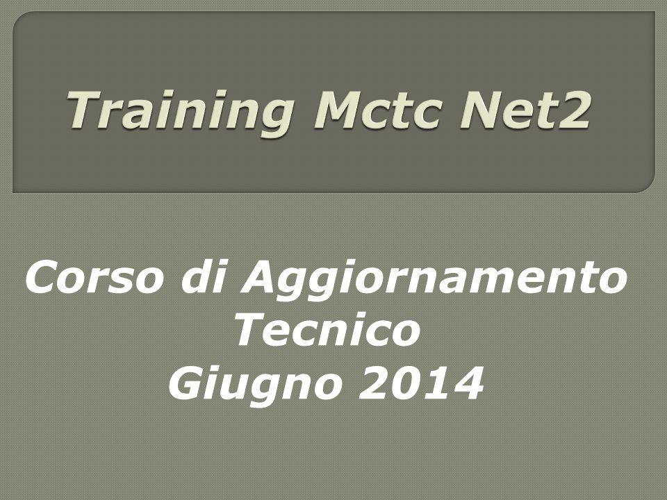 Corso di Aggiornamento Tecnico Giugno 2014
