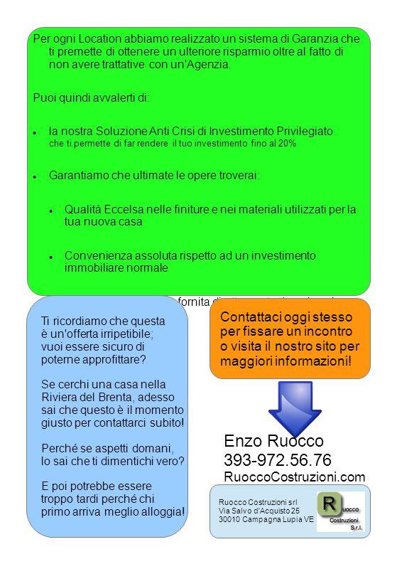 Enzo Ruocco 393-972.56.76 Contattaci oggi stesso
