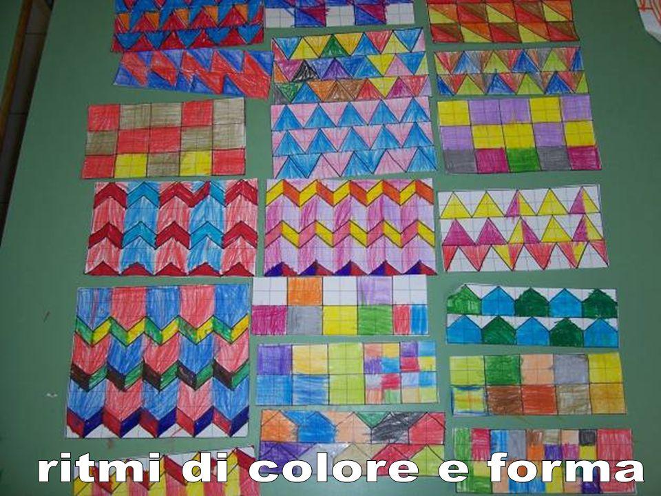 ritmi di colore e forma