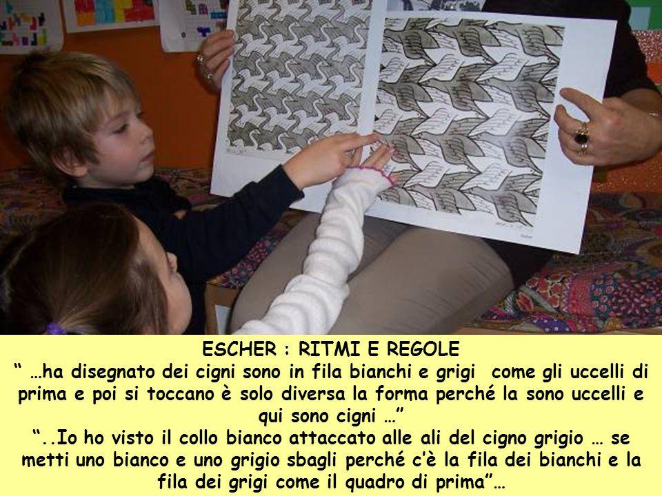 ESCHER : RITMI E REGOLE