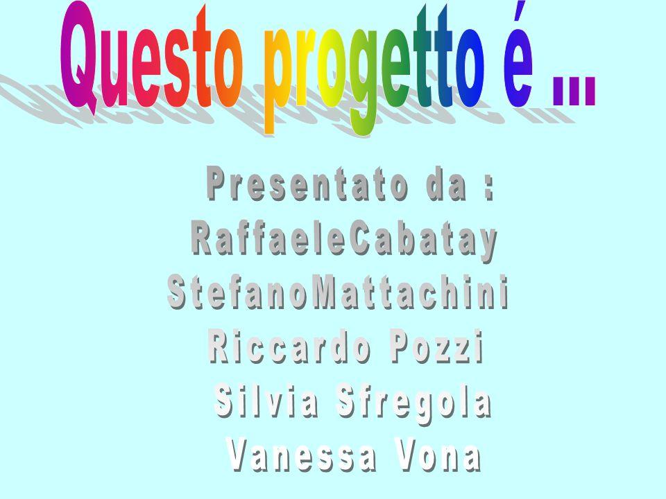 Presentato da : RaffaeleCabatay StefanoMattachini Riccardo Pozzi
